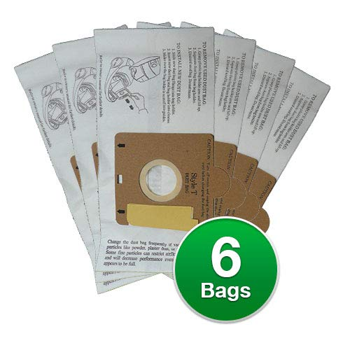 Replacement Vacuum Bag for Eureka 980 Canister Vacuum Model