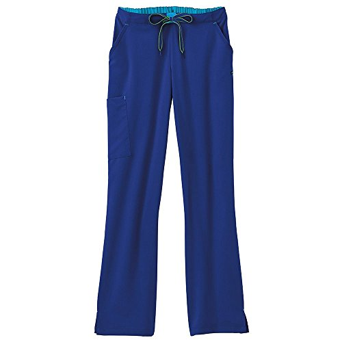Modern Fit Collection by Jockey Women's Convertible Drawstring Scrub Pant Small Galaxy (Fit Collection)