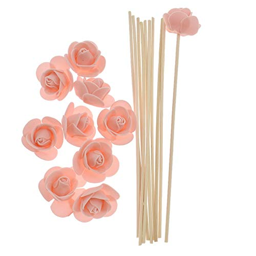 SeedWorld Reed Diffuser Sticks - 10pcs Artificial Flowers Fragrance Diffuser Replacement Sticks Rattan Refill for Incense Aromatherapy DIY Home Decoration 1 PCs by SeedWorld (Image #6)