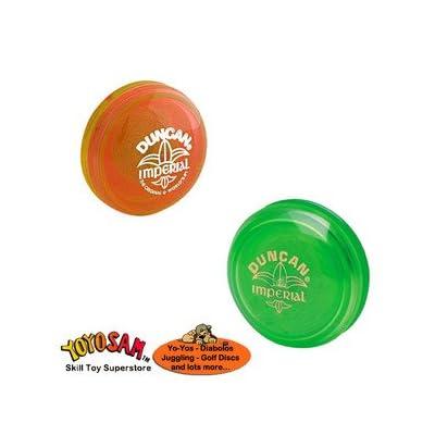 Duncan Imperial Yo-Yo 2-pack - Green/Orange: Toys & Games
