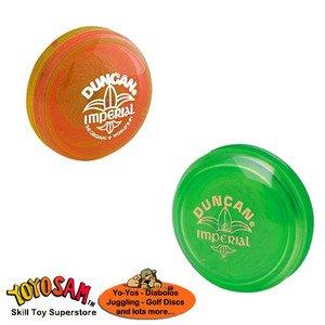 Duncan Imperial Yo-Yo 2-pack - Green/Orange