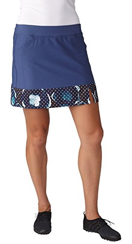 Line Taylormade Performance (adidas Golf Womens Adistar Printed Hem Skort, Raw Purple, Large)