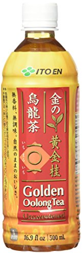 Ito En Golden Oolong Tea, Unsweetened, 16.9 Fluid Ounce (Pack of 12)