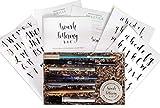 Brush Lettering Calligraphy Kit • Award-Winning Starter Set for Beginners • Includes Instruction...