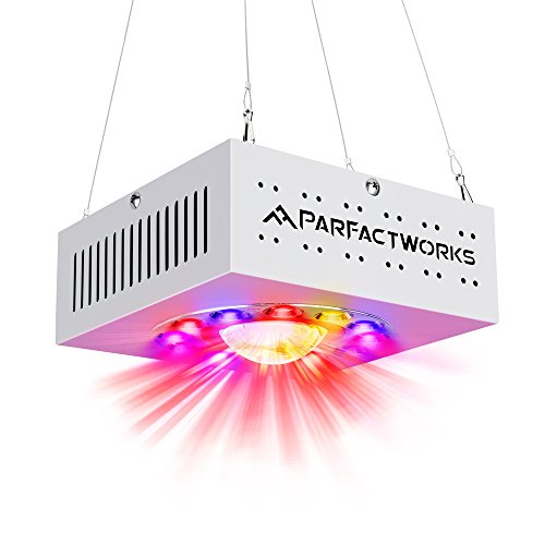 PARFACTWORKS 250W LED Grow Light Full Spectrum Including UV and IR Plant Growing Lamp for Indoor Plant Veg and Flower Full Cycle