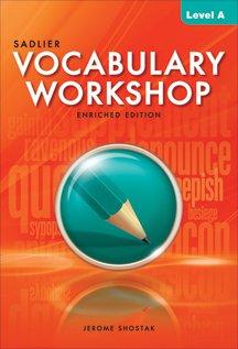 2013 Cover - Vocabulary Workshop Level A (Grade 6) Paperback - 2013