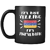 I%27m Not Yelling I%27m Armenian Flag %2