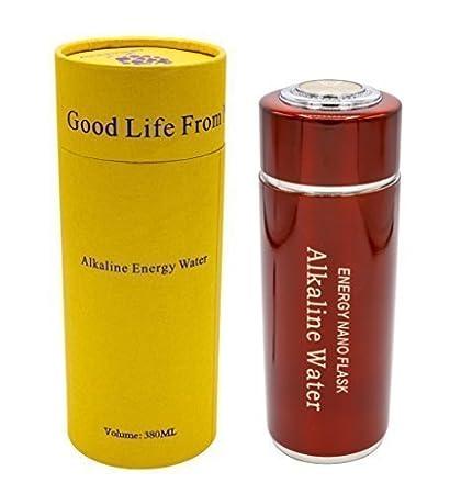 Tragbarer Alkalischer Wasserfilter, Ionisator Alkaline Water Flask Health Cup, Flasche in rot chi-enterprise
