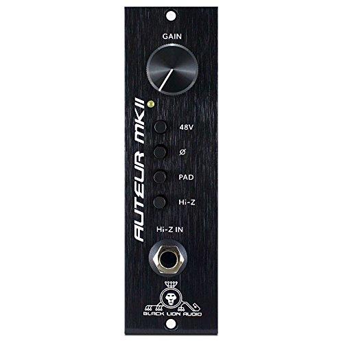 Black Lion Audio Auteur MKII 500-Series Module Microphone Preamp -