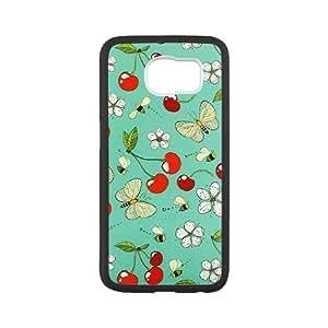 Hjqi - Custom Cherry Phone Case, Cherry Customized Case for SamSung Galaxy S6