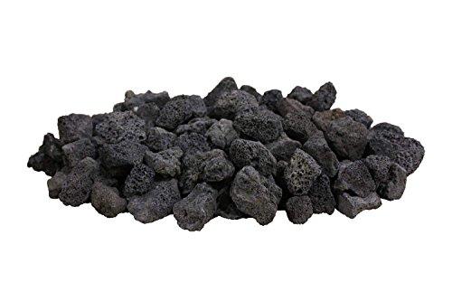 Firegear Black Lava Rock (FG-LAVA-50), 50 pounds by Firegear