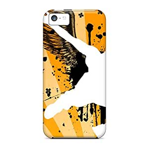 Durable Case For The Iphone 5c- Eco-friendly Retail Packaging(parkour Angel)