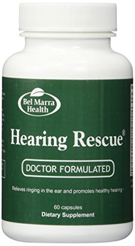 Hearing Rescue (60 Capsules) Brand: Bel Marra