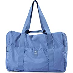 VANFN - P.TRAVEL SERIES FOLDABLE TRAVEL DUFFEL BAG: Carry your travel luggage or your outdoor sport necessities in hands-free comfort and style in the VanFn lightweight folding travel duffel. This lightweight, durable, and expandable nylon du...