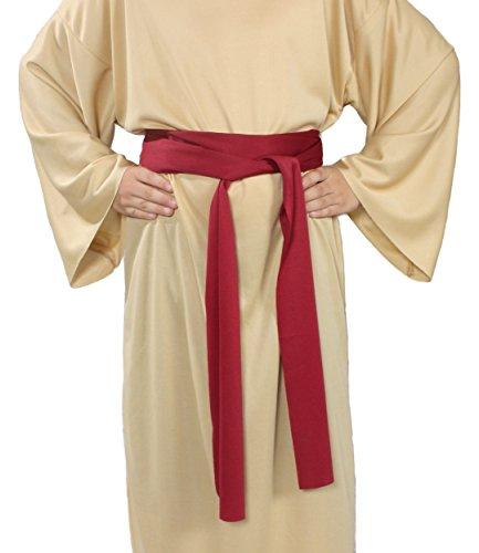 Kids Burgundy Wiseman Costumes - Alexanders Costumes Story of Christ Biblical