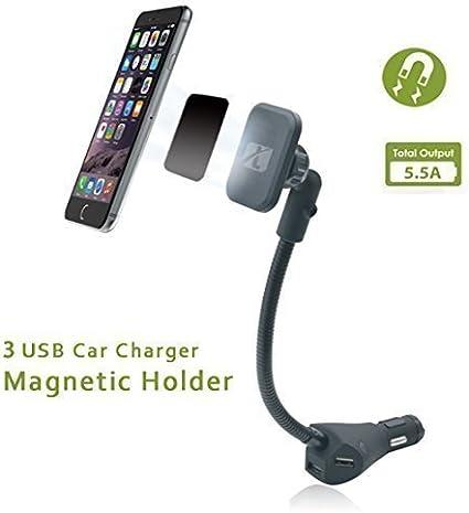 Soporte magnético coche. magnético para coche Soporte de ...