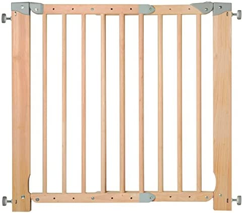 Nordlinger Pro B20 - Barrera de seguridad extraíble de madera: Amazon.es: Bebé