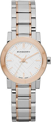 Burberry-White-Dial-Rose-Gold-Ion-plated-Bezel-Ladies-Watch-BU9205