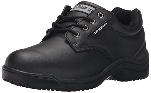 clearance shop offer Skidbuster 5071 Men's Leather Slip Resistant Oxford Black clearance new arrival cheap 2014 new cheap countdown package cheap prices reliable SN9lbHcvS