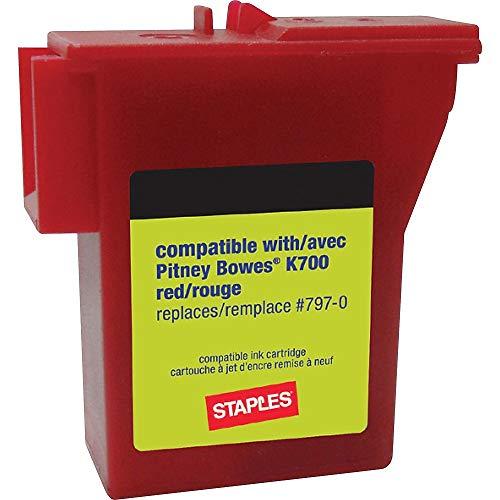 Series Meters - Staples 756927 K700 Postage Meter Ink Cartridge for Mailstation Series Meters
