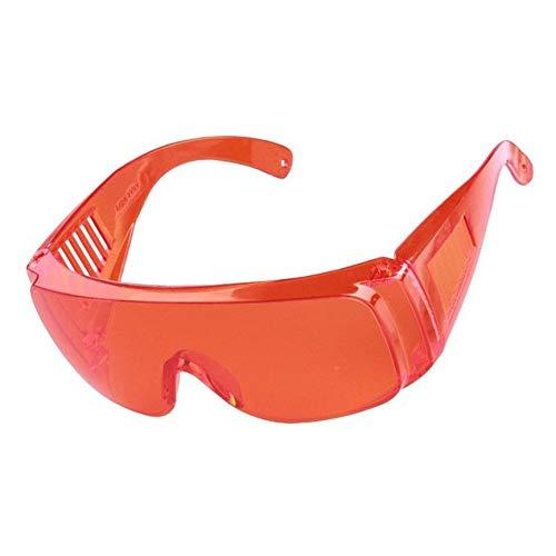 Gafas de protecci/ón laboral industrial Gafas protectoras de infrarrojos anti l/áser Lentes de PC Anti-vaho Anti-UV Anti-impacto Gafas