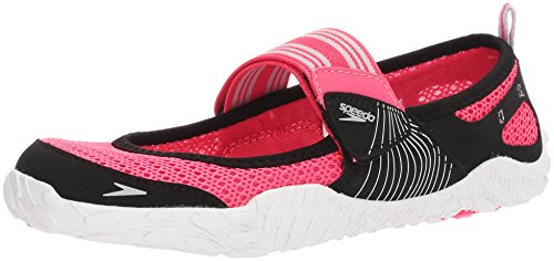 Speedo Women's Offshore Strap Athletic Water Shoe, Pink/White, 5 C/D US from Speedo