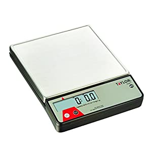 Taylor Precision Products Digital Portion Control Scale with Calibration Feature (22-Pound)