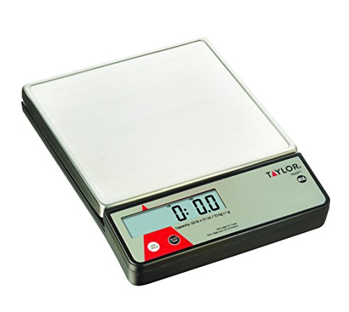 Control Digital Scale - Taylor Precision Products Digital Portion Control Scale with Calibration Feature (22-Pound)