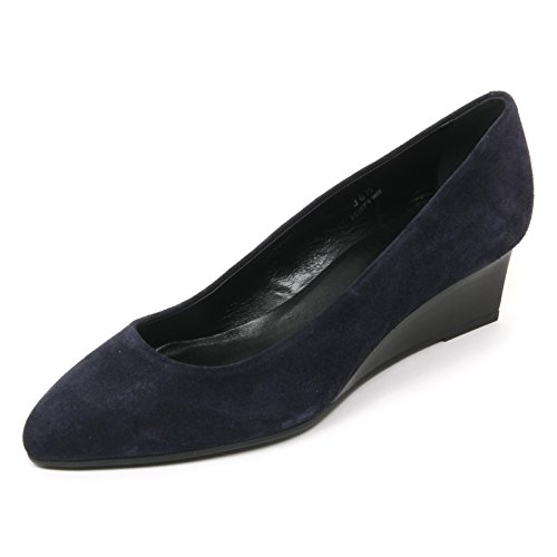 Shoe Scuro Scarpa Blu Decollete Scuro Zeppa blu T50 Donna Tod's B9648 Woman fWn1np