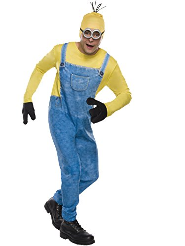 Rubie's Men's Movie Minion Costume, As As Shown, -