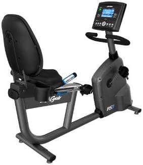 Bicicleta estática reclinada RS3 Life Cycle Go Life Fitness + ...