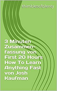 Amazon.com: The First 20 Hours: How to Learn Anything ...