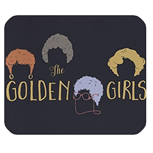 LiFei Business Golden Girls Minimalist Gaming mouse pad Mousepad Home/office Dust and Stain Resistant Hot Sale Fast Shipping by LiFei Business