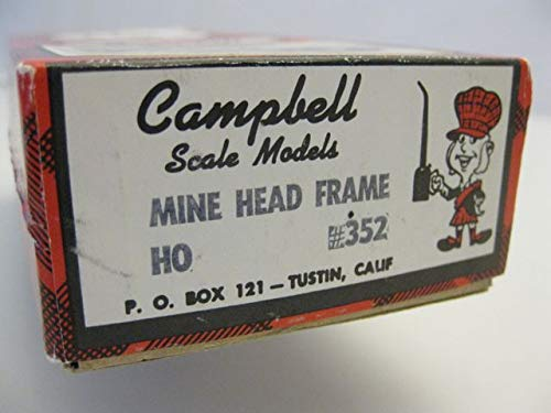 Scale Campbell Models (Mine Head Frame -- 3 x 5-1/8