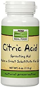 Now Foods - Citric Acid, 4 oz powder