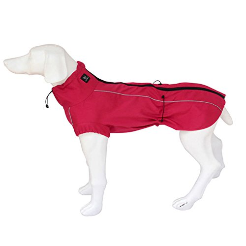 Petacc Dog Jacket Polyester- Fleece Lined Dog Coat With Reflective Strip Waterproof Dog Vest For Med Icon