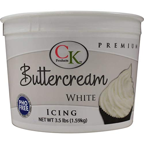 CK Products Buttercream Icing, 3.5 lb, White