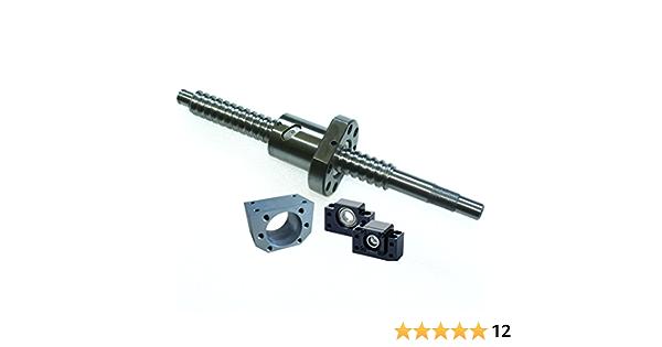 Happybuy Ballscrew Antibacklash SFU1605-1500mm 1605 Ball Screws+1 Set BK//BF12 1 6.35 10 mm Coupler for CNC Route Grinding Machine