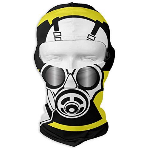 Xoshysowppp Nuclear Radiation Symbol Windproof Face Mask Balaclava Hood