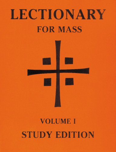 Lectionary for Mass: Volume 1 Study Edition (Lectionary for Mass (Paperback))