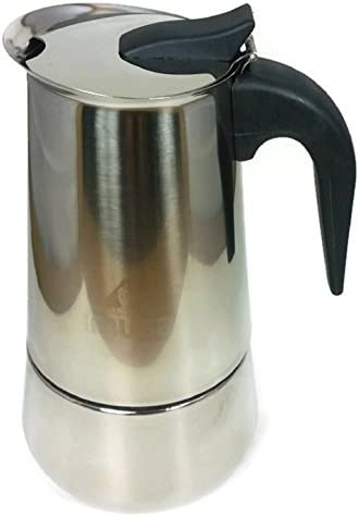 Imusa Espresso Coffee Maker Stainless Steel 2 cup