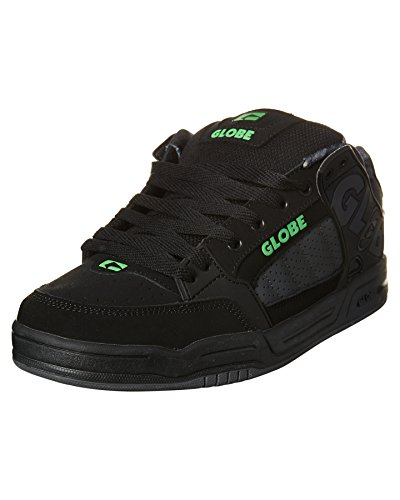 Globe Tilt, Zapatillas de Skateboarding Unisex Adulto Negro (Black / Ebony / Teal)