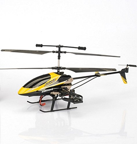Haktoys HAK448 4-Channel 15-Inch Gyroscope Rechargeable Ready to Fly RC Helicopter with LED Lights