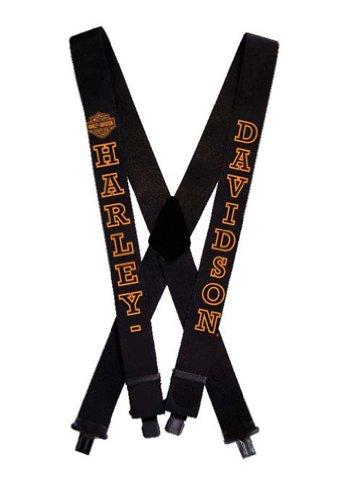 42 Inch SUS302303 Harley-Davidson Bar /& Shield Suspenders