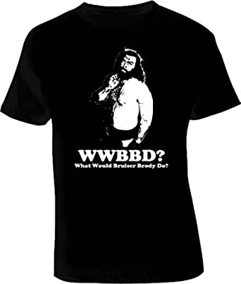 Bruiser Brody what would Bruiser Brody do WWBD T Shirt 3XL Black
