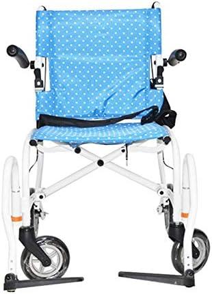 軽量の調節可能な折りたたみ車椅子運転医療大人医療用品、搭乗バックパック18インチ小型車椅子美しい