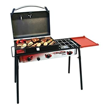 Amazon.com: Camp Chef Big parrilla de gas 3 quemador: Sports ...