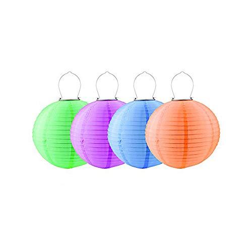 Paper Lantern Solar Lights