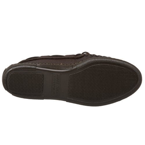 Minnetonka Mujeres Moosehide Classic Slip-on Chocolate