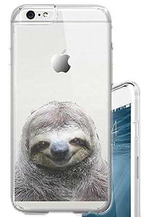 41H%2BNRvTwsL._UY445_ amazon com iphone 6s case cherry sloth funny meme animal clear